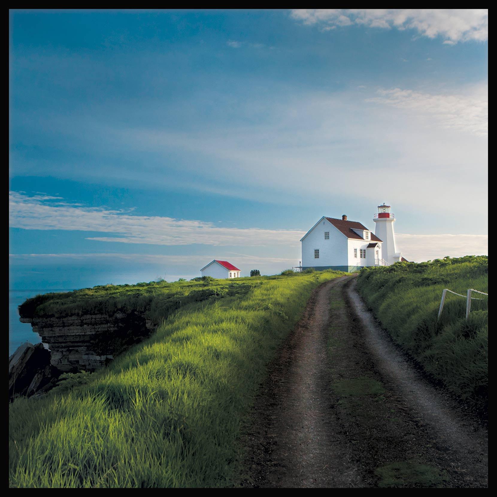 La route du phare